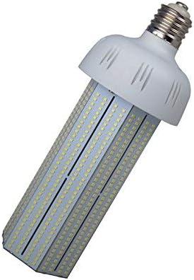 Bombilla YXH LED tipo maíz, de 30a 120W E40, 6000K AC220V luz de alta potencia, ahorro de energía para alumbrado exterior e invernadero, metal, 100w 6000k, E40, 100.00W 277.00V