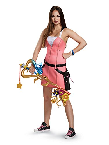 Disguise Women's Kairi Deluxe Adult Costume, Pink, S