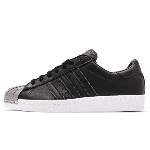 Adidas Women's Superstar 80S MT W, CORE Black/CORE Black/Footwear White