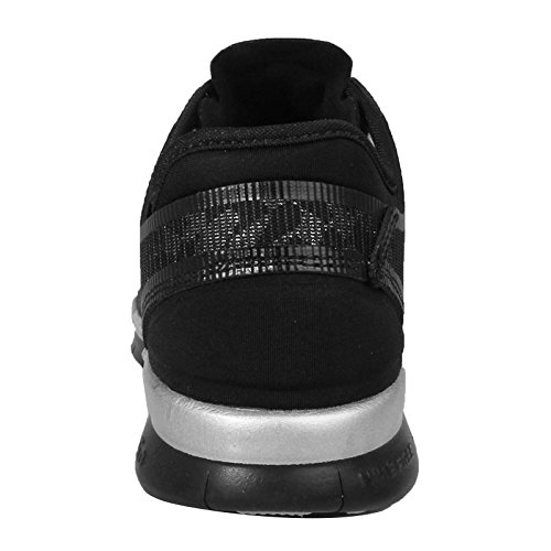 Nike Free 5.0 Tr Fit 5 Metallic Sz 5 Womens Cross Training Shoes Black New dtPBRn