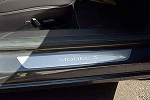 TeslaShields Door Sill Protector for Tesla Model 3 | Full...