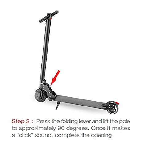 Amazon.com: WMUnicycle Patinete eléctrico plegable ...