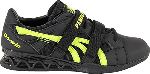 2014 Pendlay Limited Edition Do-Win Weightlifting Shoes - Men's Black / Lime Weight Power Lifting Shoe (Free Shipping) (9)