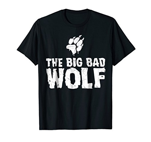 The Big Bad Wolf Paw Funny Halloween Costume T-Shirt