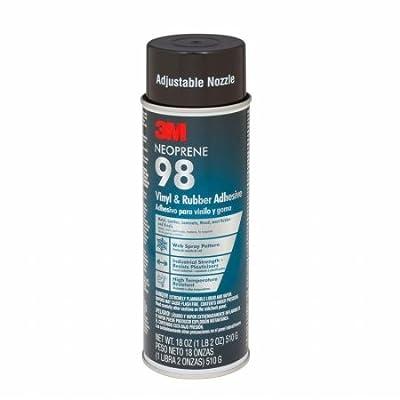 3M 98-24 3M 98-24 18 oz Neoprene Rubber & Vinyl 98 Spray Adhesive