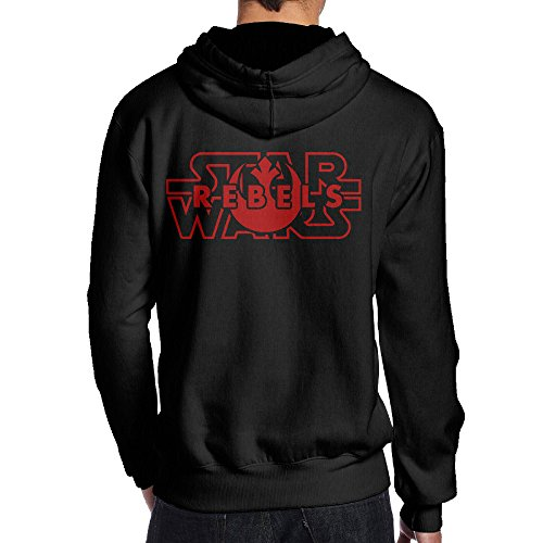 SAMMOI Star Rebels Wars Men's Hoodies XXL (Big Star Mini Skirt)