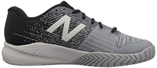 Nieuw Evenwicht Heren 996v3 Hard Court Tennis Schoen Zwart / Grijs