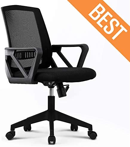 NEO CHAIR Office Chair Computer Desk Chair Gaming – Bulk Business Executive Ergonomic Back Cushion Lumbar Support Chairs Wheels Black Mesh Racing Seat Adjustable Swivel Rolling Diagonal Armrests