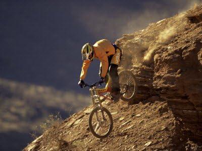 Póster con diseño de bicicleta de montaña para bicicletas de ...