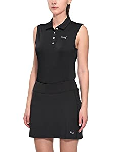 Baleaf Women's Quick Dry Performance Sleeveless Polo Shirts UPF 50+