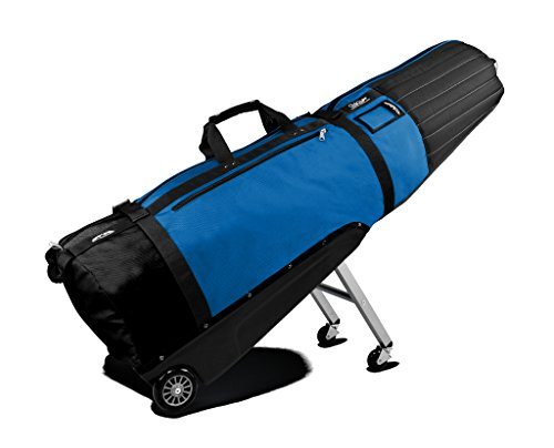 Sun Mountain Golf CLUBGLIDER Meridian Travel Cover Bag - Black/Cobalt