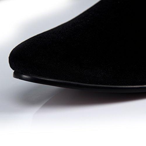 Mocassini Da Uomo In Corda Intrecciata Mocassini In Velluto Con Maglie Calde
