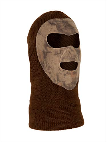Natural Gear Full Knit Face Mask for Winter Hunting, Snow Sk