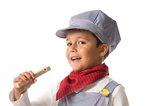 train conductor hat and whistle - 4