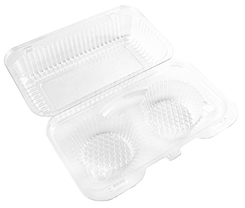 Plastic Cupcake Containers Storage Transport product image