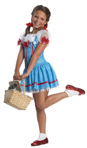 Authentic Tv Show Costumes (Girls Red Sequin Bow Dorothy Costume)