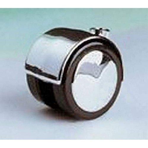Hotec Designrolle chrom, 50 mm D, für Teppichböden für Teppichböden Hartmann Holztechnik