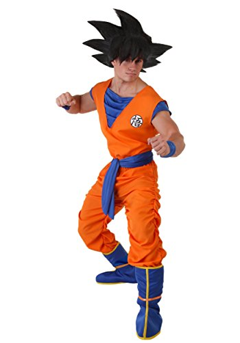 Fun Costumes Dragon Ball Z Adult Goku Costume Medium Orange,Blue