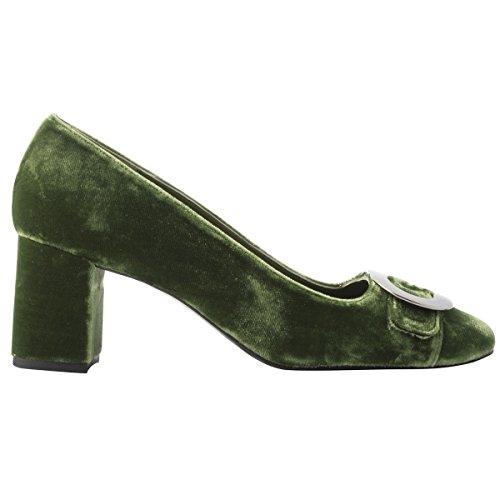 Verde Paris para Exclusif Vestir Mujer Zapatos de qYWdfxdwr