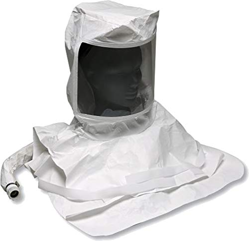 Allegro Industries 9913-HC Double Bib Pharmaceutical Maintenance Free Tyvek Hood with Air Temperature Controller, One -