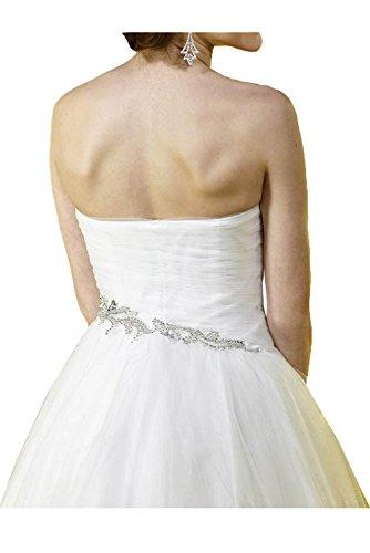 TOSKANA BRAUT Herzform Damen Traum Abendkleider Kurz Tuell Braut Cocktail Party Ball Hochzeitskleider