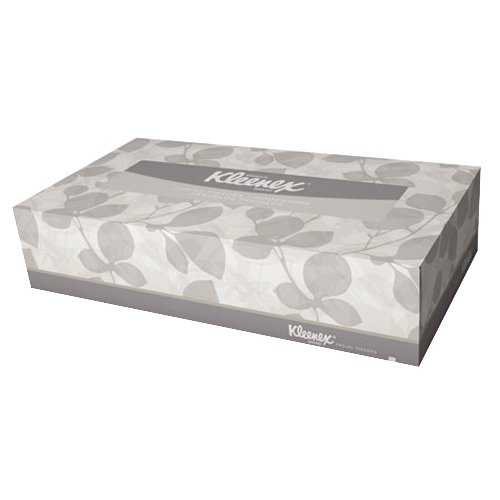 Kimberly Clark Safety 21400 Kleenex Flat Box Facial Tissue (Pack of 3600)