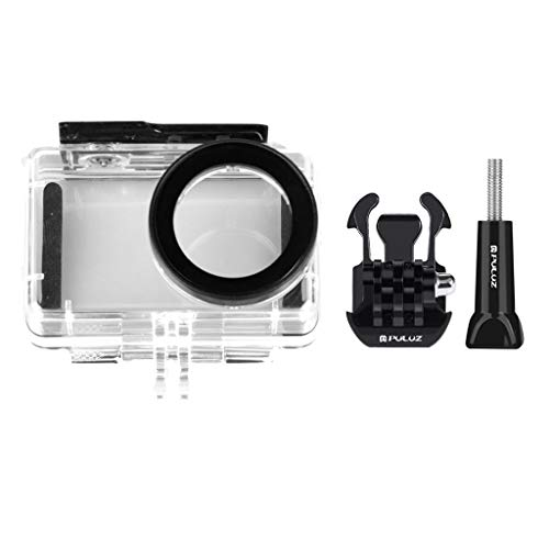 Fan-Ling Waterproof Housing Case Porotective Box 45m for Xiaomi Mijia 4K Mini Action Camera,Light and Portable,Ideal for Diving, Surfing, Snorkeling, Skiing, Yacht or Other Activities