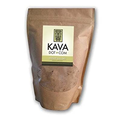 KavaDotCom EasyStrain Instant Kava Kava Mix | Kava Root Extract for Sleep Support, Relaxation, Stress and Anxiety Relief | Easy Instant Natural Kava Kava Supplement Drink Mix