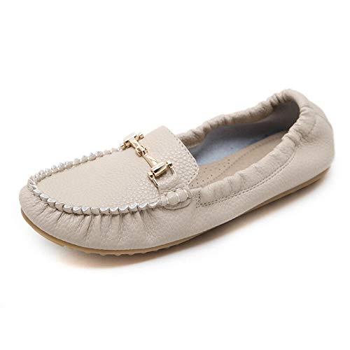 el Las Casuales Suave Antideslizantes Fondo Plegables Puestos de de Mujer Suaves Embarazada señoras B Planos Zapatos Zapatos FLYRCX Zapatos Cabeza en Redonda de cómodos Bolso Zapatos aH0Iaq