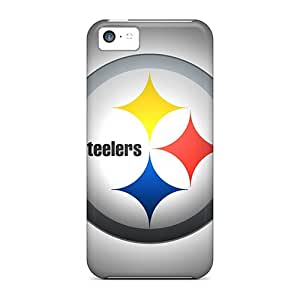Iphone 5c HOD15255wPet Provide Private Custom Nice Pittsburgh Steelers Pattern Protector Hard Cell-phone Cases -JonBradica