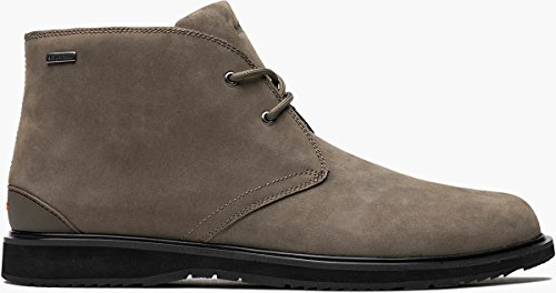 SWIMS Mens Barry Chukka Boot Taupe/Black Size 8.5 by SWIMS