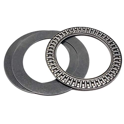 2pcs AXK4565 Thrust Needle Roller Bearing with Two Washers 45 x 65 x 3mm