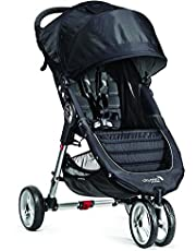 Baby Jogger City Mini Single Stroller, Black/grey
