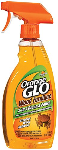 Orange Glo 2-in-1 Clean & Polish Wood Furniture Spray - 16 oz - 2 pk by Orange Glo (Image #2)