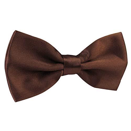per Holiday uomo regolabile Pre Ties caffè Bow moda legato Alizeal cpWPCSqwCT