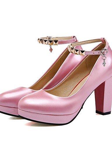 GGX/Microfaser Damen-Schuhe Frühjahr/Sommer/Herbst Heels Heels Hochzeit/Büro & Karriere/Party & Abend/Kleid/Casual pink-us5 / eu35 / uk3 / cn34