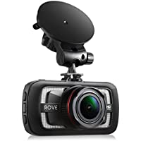 Rove A12-60 - 2.7K Quad HD 1440P at 30fps- Car Dash Cam HDR Superior Nigh Vision Ambarella A12-A55 American Made Chipset 170° Wide Angle Dashboard Camera Car DVR Video Recorder W/ 3.0 LCD