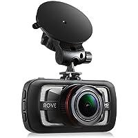 Rove A12-60 - 2.7K Quad HD 1440P at 30fps- Car Dash Cam HDR Superior Nigh Vision Ambarella A12-A55 American Made Chipset 170° Wide Angle Dashboard Camera Car DVR Video Recorder W/ 3.0 LCD
