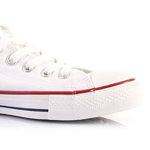 Converse White Ctas Hi White mode Core adulte mixte Baskets Optical z6rHgzFqw