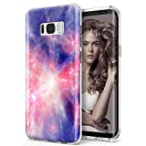 Galaxy S8 case ZUSLAB Nebula Pattern Design, Slim Shockproof Flexible TPU, Soft Rubber Silicone Skin Cover for Samsung Galaxy S8