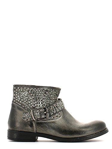 CAFèNOIR Loow boot - botas de caño bajo de piel mujer ANTRACITE