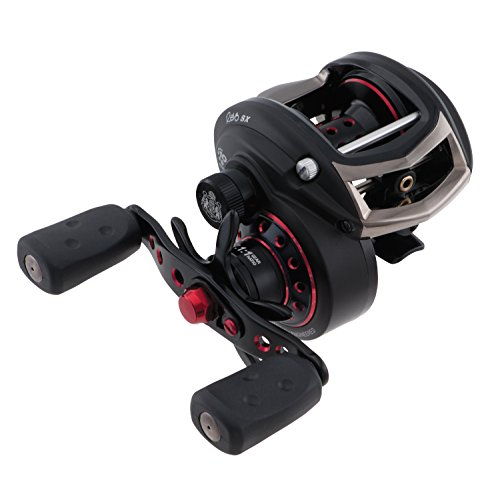 Abu Garcia Revo SX Low-Profile Baitcast Fishing Reel, High Speed, Right Hand