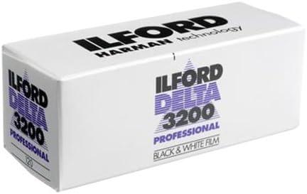 Ilford Delta 400 Profesional Negro Y Blanco 120 rollo de película