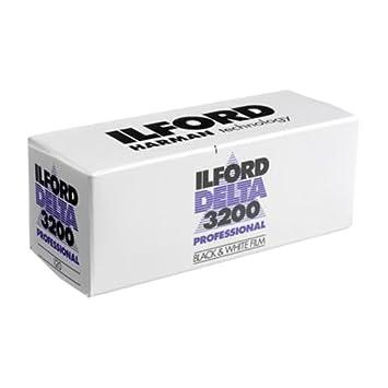 Ilford DELTA 3200 Professional, Black and White Print Film, 120 (6 cm), ISO  3200 (1921535)