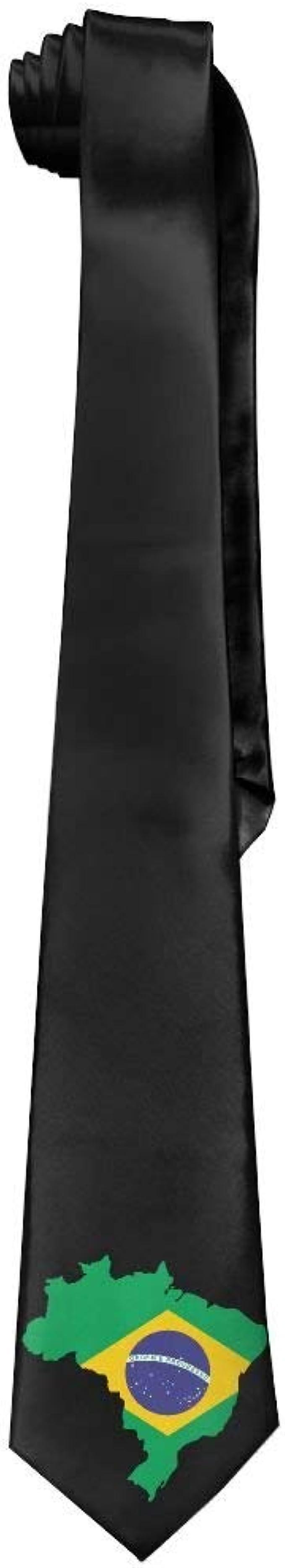 Jxrodekz Corbatas de seda clásicas negras para hombre de Brasil ...