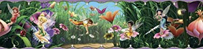 Blue Mountain Wallcoverings Ds026453 Disney Fairies Movie Self-stick Wall Border 5-inch By 15-foot from Blue Mountain Wallcoverings