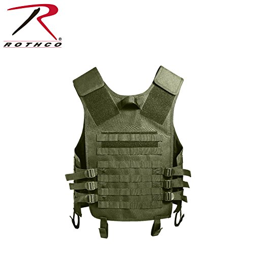 (Rothco Molle Modular Vest, Olive Drab )