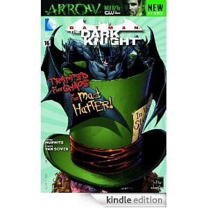 Bat Man, Dark Knight, Dc Comics, # 16, Mad Hatter, 2013, Trapped in Chaos, Comic Book