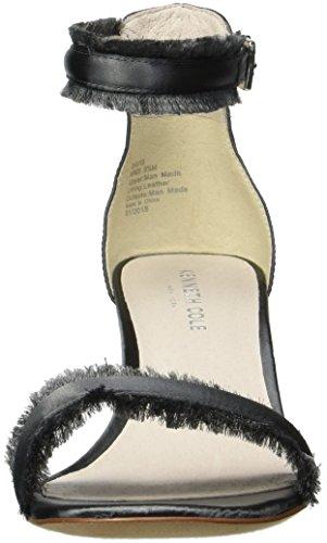 mujer Davis oscuro gris Cole con cuña York de sandalia Kenneth Nueva para correa tobillo nq8xZ8YO
