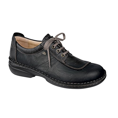 Finn Comfort Lexington Womens Oxfords, Black Plissee, Size - 42 by Finn Comfort